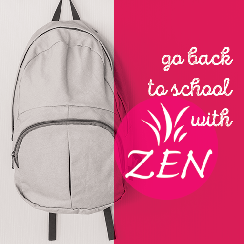 Zen-back-to-school
