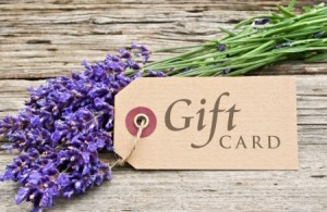 21719747 - lavender and gift card